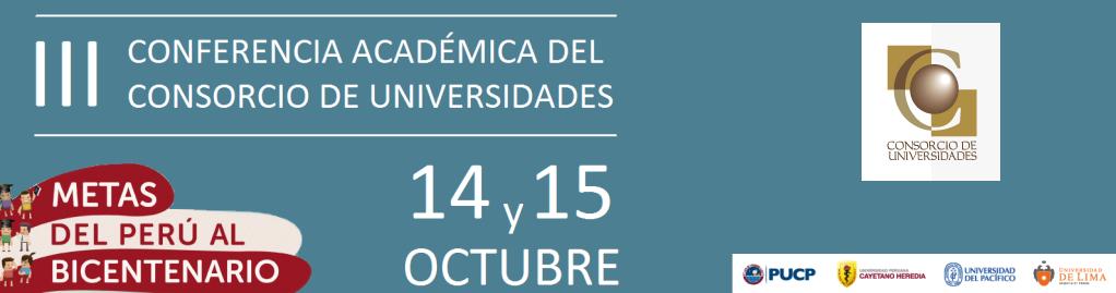 III Conferencia Académica del Consorcio de Universidades